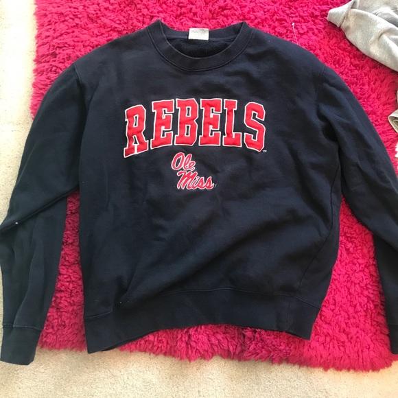 vintage Ole Miss crewneck sweatshirt